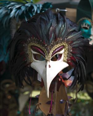 Beacked Carnival Mask Italy