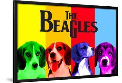 COMPANY HOUND DOG RETRO ADVERTISING POSTER ART PRINT BEAGLE CANOE CO