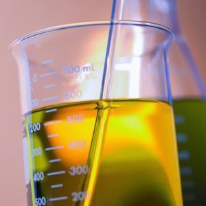 Beaker Filled with Liquid
