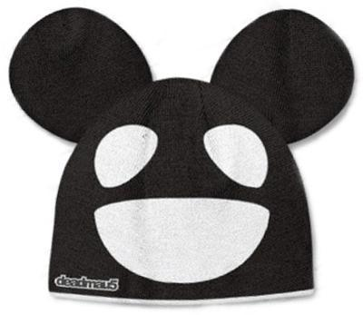 Beanie: Deadmau5 - Black/White Mouse