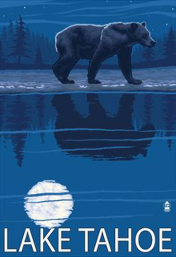 Bear at Night - Lake Tahoe, California