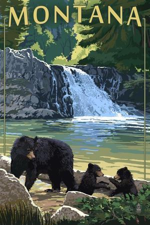 https://imgc.allpostersimages.com/img/posters/bear-family-and-waterfall-montana_u-L-Q1GQO940.jpg?p=0