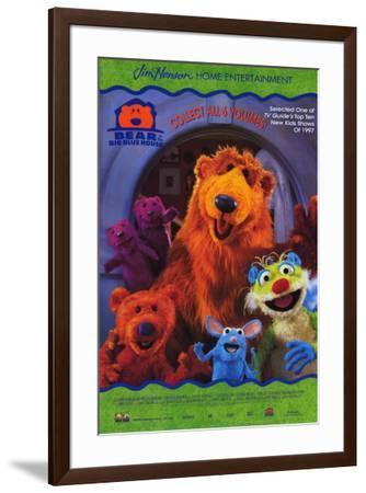 Bear in the Big Blue House--Framed Poster