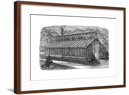 Beard's Greenhouse--Framed Giclee Print