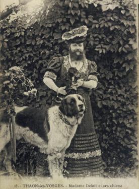 Bearded Lady and Dog