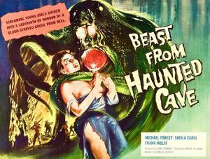 Beast From Haunted Cave, Sheila Carol, (Lobbycard), 1960