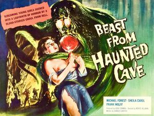Beast From Haunted Cave, Sheila Carol, (Lobbycard), 1960