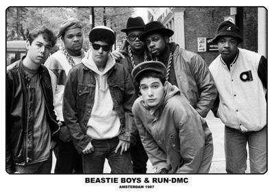 Beastie Boys & Run Dmc- Amsterdam 1987
