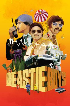 Beastie Boys - Sabotage Movie Poster