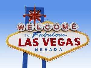 Las Vegas Welcome Road Sign by Beathan