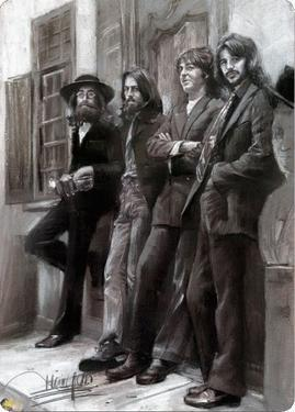 Beatles Leaning