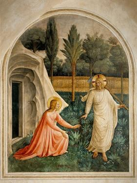 Noli me tangere (touch me not) by Beato Angelico