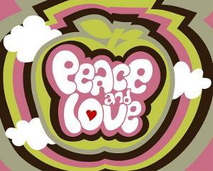 Peace and Love by Béatrice Patrat-canard