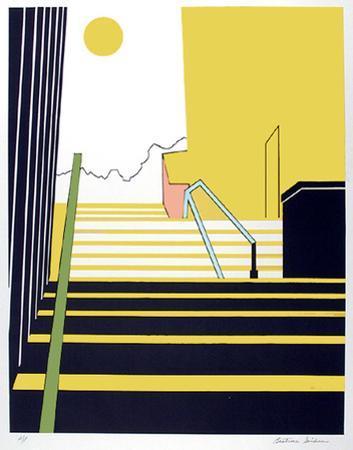 Stairway by Beatrice Seiden