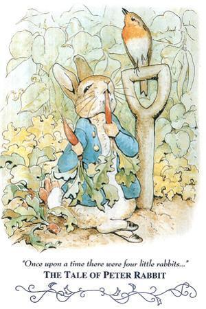 Beatrix Potter Tale Peter Rabbit POSTER cute