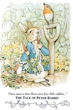 Beatrix Potter Tale Peter Rabbit POSTER cute