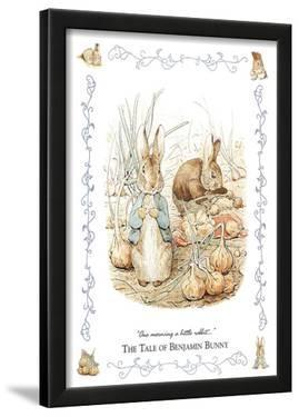 Beatrix Potter (The Tale Of Benjamin Bunny) Art Poster Print