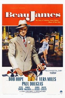 Beau James, from Left: Bob Hope, Vera Miles, 1957