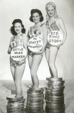 Beauties with Film Canisters