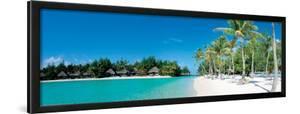 Beautiful Beach on Bora Bora Island - French Polynesia