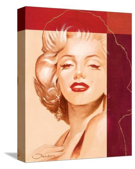 Beautiful Marilyn-Joadoor-Stretched Canvas Print
