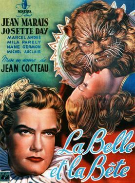 Beauty and the Beast, (AKA La Belle Et La Bete), Jean Marais, Josette Day, 1946