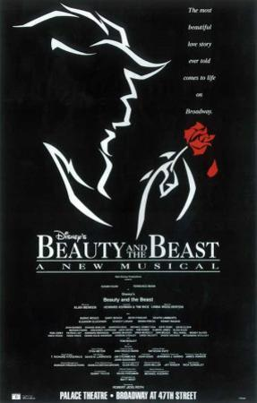Beauty and The Beast - Broadway Poster , 1994