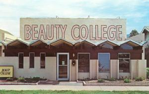 Beauty College with Zigzag Roof