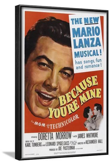 Because You're Mine, 1952--Framed Art Print