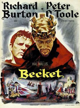 Becket, from Left, Richard Burton, Peter O'Toole, 1964