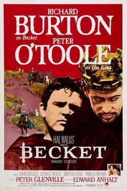Becket, Richard Burton, Peter O'Toole, 1964
