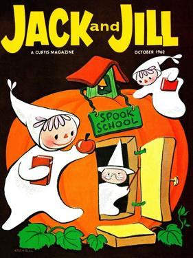 Spook School - Jack and Jill, October 1962 by Becky Krehbiel