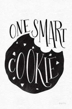 One Smart Cookie BW by Becky Thorns