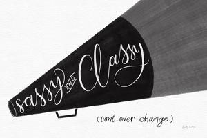 Sassy and Classy BW by Becky Thorns