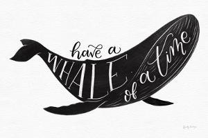Whale of a Time BW by Becky Thorns