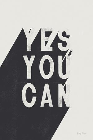 Yes You Can BW