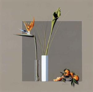 Fleurs et Mandarines by Bedarrides