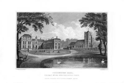 Beddington Park, Sutton, Surrey, 1829 by J Rogers
