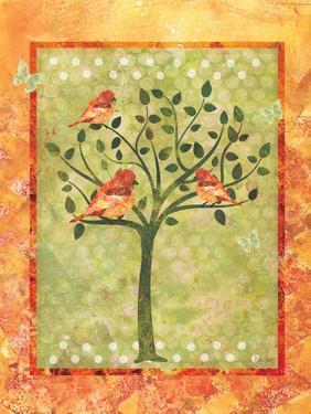 3 Birds in a Tree by Bee Sturgis