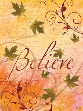 Believe and Swirling Autumn Leaves by Bee Sturgis