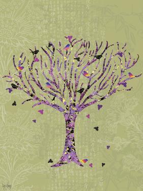 Birds in a Tree by Bee Sturgis
