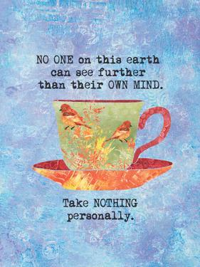 Nothing Personally Bird Cup by Bee Sturgis