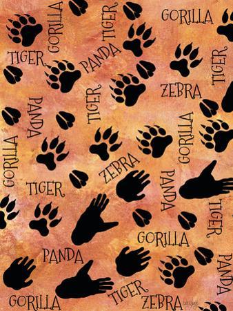 Safari Adventure Animal Footprints