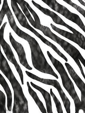 Safari Adventure Jungle Zebra Hide by Bee Sturgis