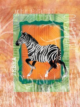 Safari Adventure Jungle Zebra by Bee Sturgis