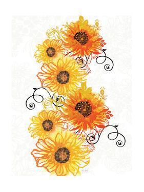Sunflower Swirls by Bee Sturgis