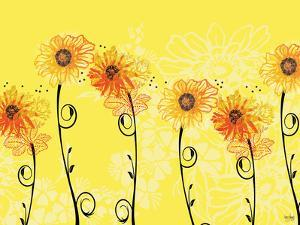 Sunny Sunflowers by Bee Sturgis