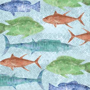 Swimming Fish by Bee Sturgis