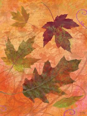 Swirling Autumn Leaves by Bee Sturgis