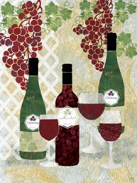 Wine and Bottles by Bee Sturgis